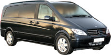 Tours of Staines and the UK. Chauffeur driven, top of the Range Mercedes Viano people carrier (MPV)