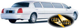 Limo Hire Staines - Cars for Stars (Staines) offering white, silver, black and vanilla white limos for hire